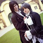 Cosplay: Ciel Phantomhive (Black,White)