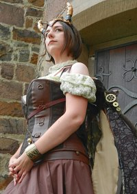 Cosplay-Cover: Steampunkdragon