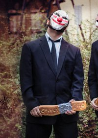 Cosplay-Cover: Hoxton (Payday)