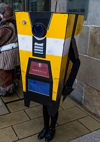 Cosplay-Cover: Claptrap the Fragtrap