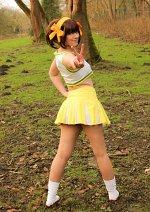 Cosplay-Cover: Haruhi [Lemon Cheerleader]