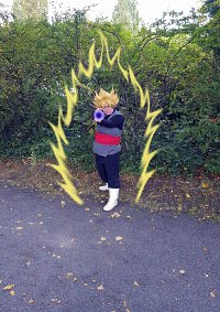 Cosplay-Cover: Black Goku (Super-Saiyajin)