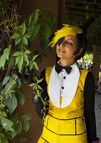 Cosplay-Cover: Bill Cipher - Human (Fanart Version)