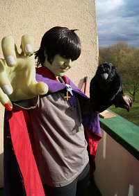 Cosplay-Cover: Murdoc Niccals [Crow Version]