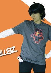 Cosplay-Cover: Murdoc Niccals [Skull Shirt]