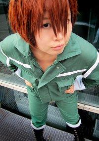 Cosplay-Cover: Sawada Tsunayoshi (沢田 綱吉) [Green Jumpsuit]