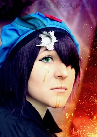 Cosplay-Cover: Cyborg Noodle - Rhinestone Eyes