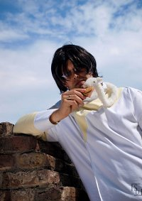 Cosplay-Cover: Watanuki (Clamp in 3D Land)