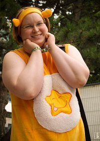 Cosplay-Cover: Lachbärchi (Laugh-a-lot-Bear)