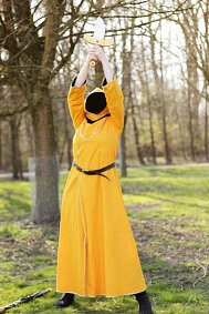 Cosplay-Cover: Magicka - Orange Wizard