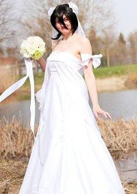 Cosplay-Cover: Kuchiki Rukia Hochzeitskleid