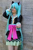 Cosplay-Cover: Hatsune Miku [Project Diva 2nd Kimono]