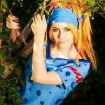 Cosplay: Rikku [[Festival-Goer]]
