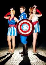 Cosplay-Cover: Captain America Dance Girl