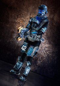 Cosplay-Cover: Isaac Clarke [Security Advanced Suit]