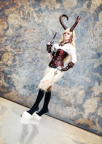 Cosplay-Cover: Steampunk-Faun