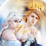 Cosplay: Freya the Ice Queen [Huntsman Winter's War]