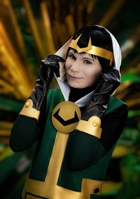 Cosplay-Cover: Kid Loki (Journey into Mystery)