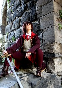 Cosplay-Cover: Godric Gryffindor
