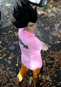 Cosplay-Cover: Vegeta (Pink Shirt Version)