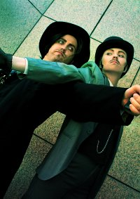 Cosplay-Cover: Sherlock Holmes (Movie / Robert Downey Jr. Version