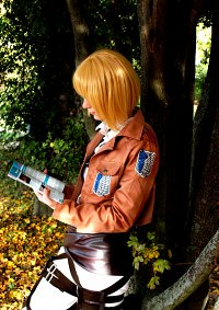 Cosplay-Cover: Armin Arlert - Scouting Legion