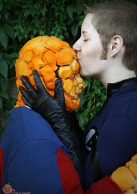 Cosplay-Cover: Ben Grimm - The Thing (Grimm Shirt Version)