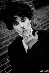 "Cosplay-Cover: Charlie Chaplin ""The Tramp"""