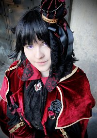 Cosplay-Cover: Leo Baskerville [Red King]