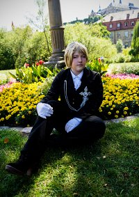 Cosplay-Cover: Eliot Nightray (Night in Gale)