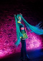 Cosplay-Cover: Hatsune Miku [Project Diva Butterfly]