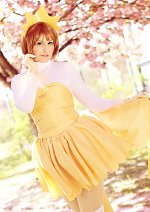 Cosplay-Cover: Card Captor Sakura (Idol-Outfit)