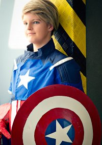 Cosplay-Cover: Steve Rogers/ Captain America