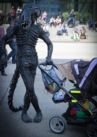 Cosplay-Cover: Xenomorph