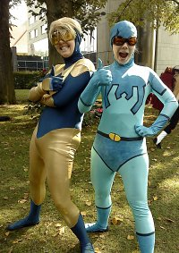 Cosplay-Cover: Blue Beetle (Ted Kord)
