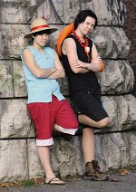 Cosplay-Cover: Monkey D. Luffy [Impel Down]