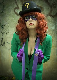 Cosplay-Cover: The Riddler (Female)