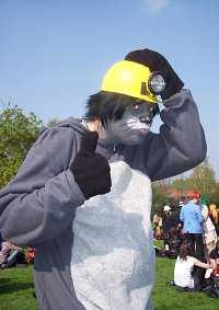 Cosplay-Cover: Gopher (Winnie the Pooh)
