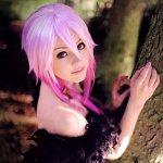 Cosplay: Inori [Euterpe, Black Feather Dress]