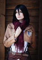 Cosplay-Cover: Mikasa Ackerman - Survey Corps
