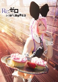 Cosplay-Cover: RAM [Bunny Suit]