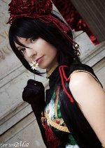 Cosplay-Cover: Shiro Yoshiwara - Red Camilla