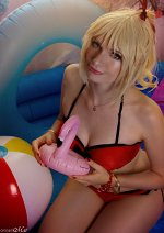 Cosplay-Cover: Mordred Pendragon - Swim Suit