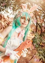Cosplay-Cover: Hatsune Miku - Bunny