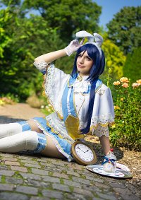 Cosplay-Cover: Kanan Matsura - Alice The White Bunny
