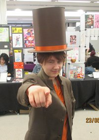 Cosplay-Cover: Professor Layton