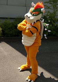 Cosplay-Cover: Bowser