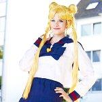 Cosplay: Bunny Tsukino (High School Uniform)