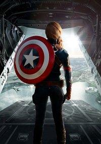 Cosplay-Cover: Female Captain America (CA: Civil War)