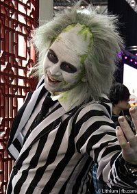 Cosplay-Cover: Beetlejuice Standart-Film-Outfit